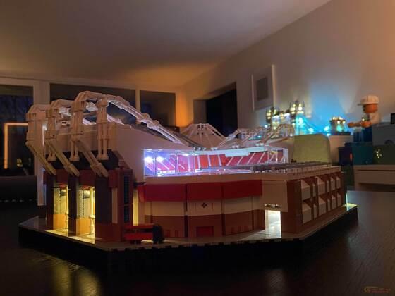 Manchester Stadion 10272 mit LED Licht