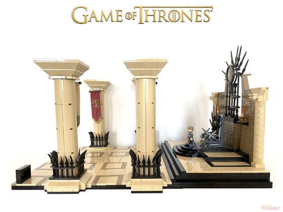 Lego Game of Thrones – Iron Throne Room