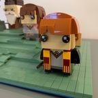 Pop-Up Buch Harry Potter BrickHeadz Display