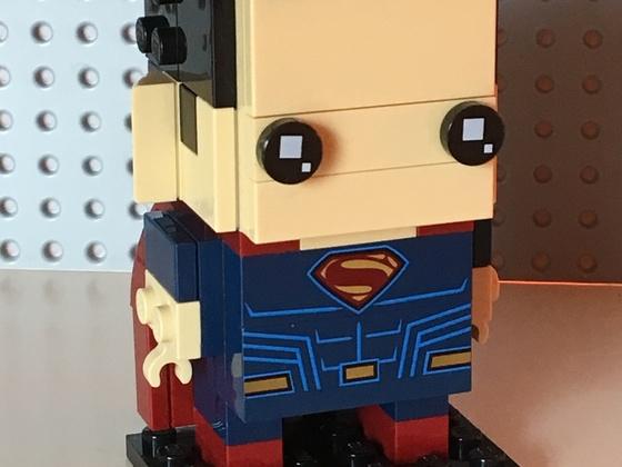 Superman - offizieller Brickhead