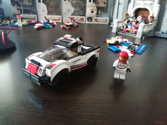 Lego Speed Champions 75887 Porsche 919 Hybrid - Pick Up Alternative Build by Keep On Bricking