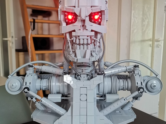 Lego Terminator T-800 Bust