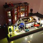 #MOC 10264 Jo´s Garage umbau und beleuchtet :-)
