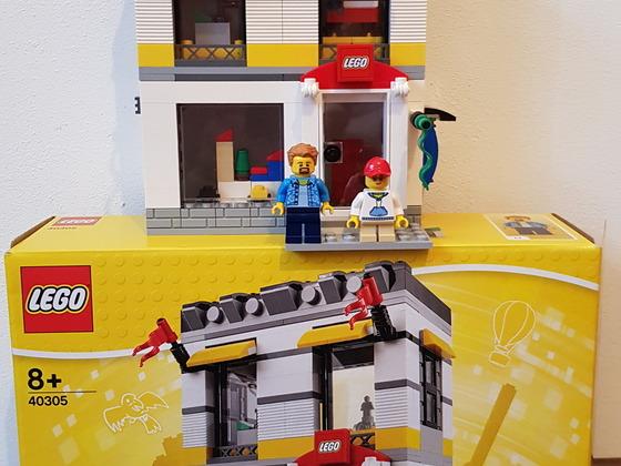 40305 LEGO Geschäft im Mini-Format