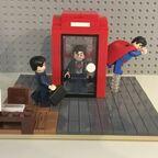 Superman - Telefonzelle