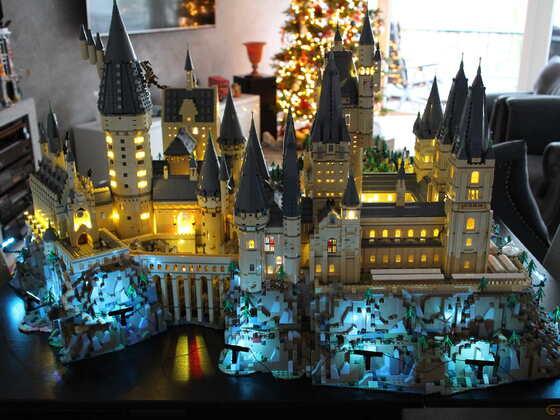 FERITG Hogwarts XXL BRICKLIGHT inside :-) viel Sapß