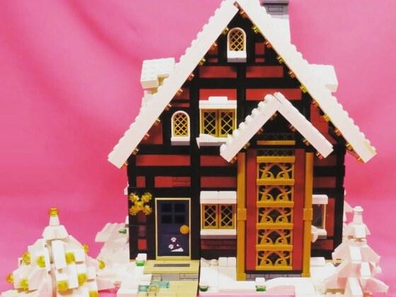 MOC Weihnachtshaus
