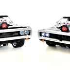 Lego 42111 Dodge Charger R/T MOC - Customized & Motorized with Power Functions