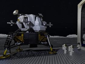 Entdeckung auf dem Mond