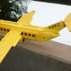 LEGO MOC ADAC Rettungsflugzeug