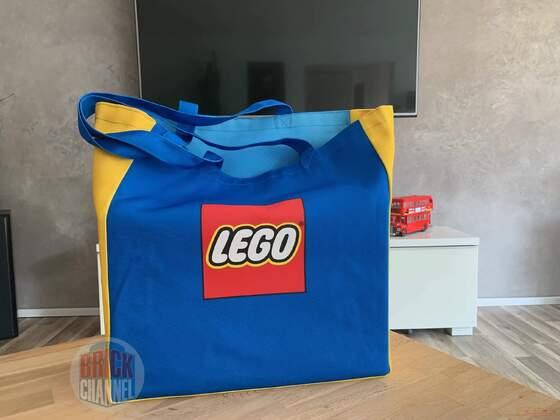 Lego Canvas Tasche im Test