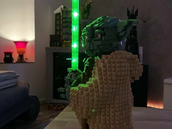 LEGO Yoda™ - Star Wars Set (75255) mit Licht ein Traum