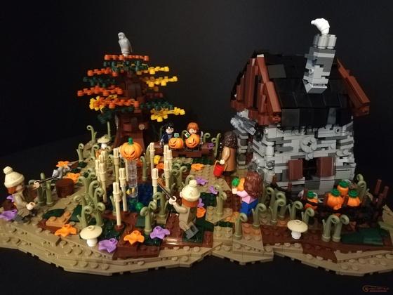 Harry Potter feiert Halloween