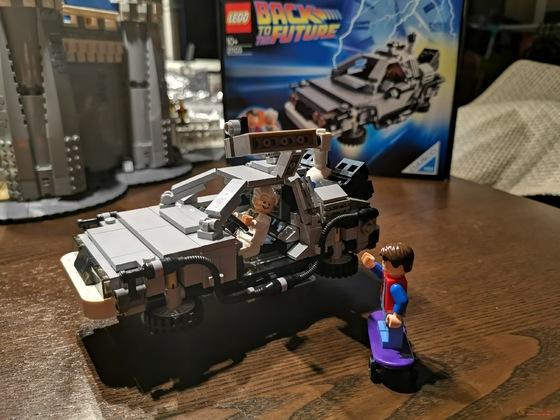 Lego Ideas 21103 DeLorean Zeitmaschine