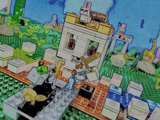 LEGO 21145 Minecraft Die Totenkopfarena mit dem Killer Kaninchen