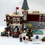 Winterliche Feuerwache 10263 derboor 8k