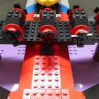 Adventskalender LEGO MOC Flugboot mit Flaggenalphabet