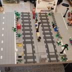 Diorama im Bau