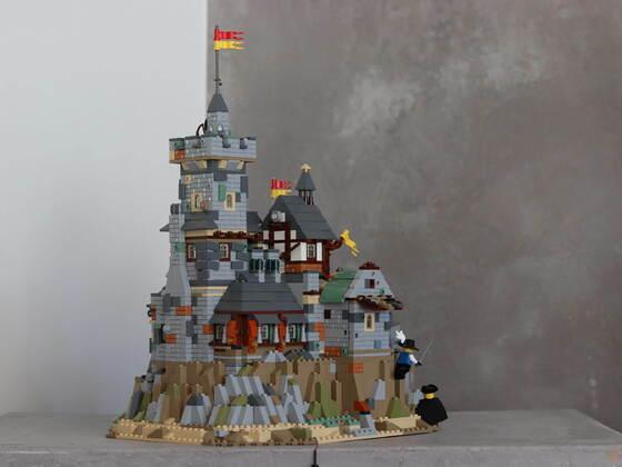 Classic castle MOC :-)
