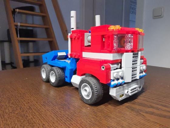Optimus Prime (transformiert)