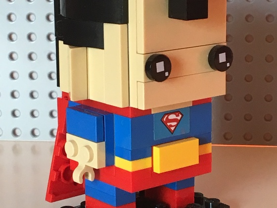 Superman - Brickhead SDCC2016 rebricked