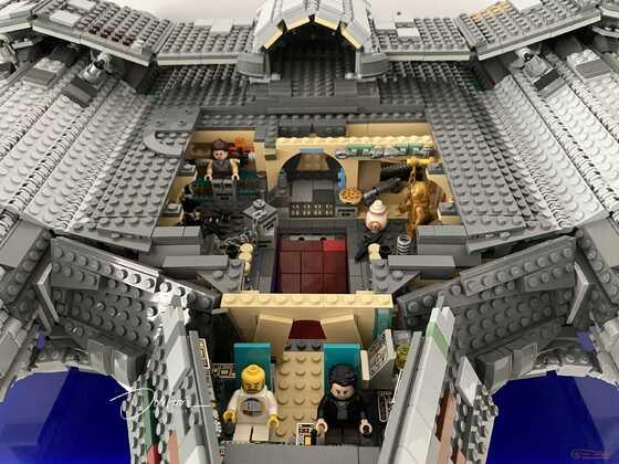 LEGO Star Wars MOC Oshis Schiff