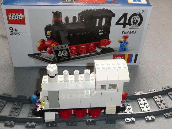 "LEGO Lok 40 Jahre ""7810 - 40370"""