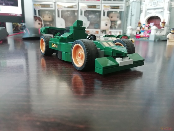 Lego Speed Champions 75884 1968 Ford Mustang Fastback - Formula 1 Alternate Build by Keep On Bricking