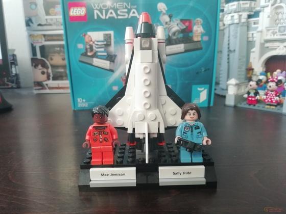 Lego Ideas 21312 Women of NASA Setbilder