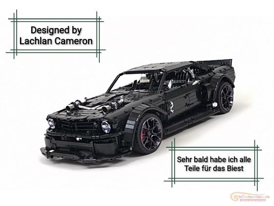 Lego Technic Ford Mustang Hoonicorn