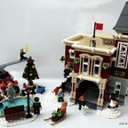 Winterliche Feuerwache 10263 derboor 2k