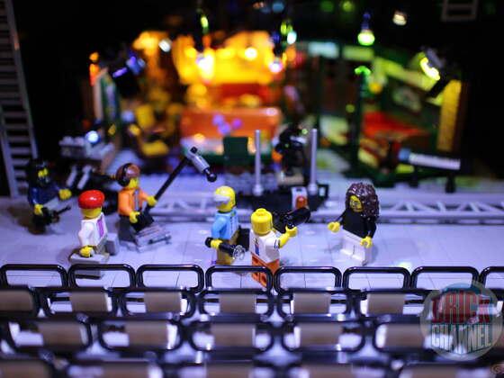 Friends 21319 im Studio mit Licht natürlich (Stdudio MOC)