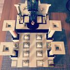"Lego Game of Thrones ""Iron Throne Room"""