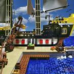 Eine tägliche Hafenszene